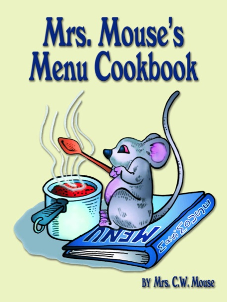 Mrs. Mouse's Menu Cookbook Cover