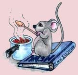 Mrs Mouse cooking image
