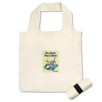 Book cover logo small reusable shopping bag